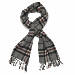 Mongo Lamswollen sjaal Gray Thompson