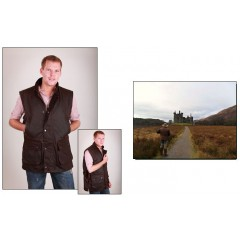 Hunter Wax Bodywarmer Derwent