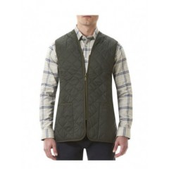 Barbour Quilted Waistcoat Olive/Anci