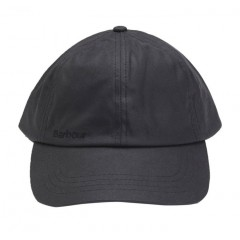 Barbour Wax Sports Cap Black