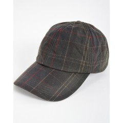 Barbour Wax Sports Cap Tartan